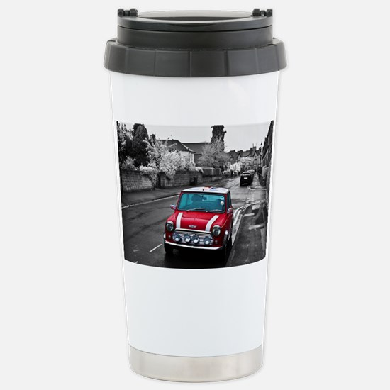 Red Mini Stainless Steel Travel Mug