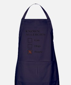 Known Allergies - cats, dogs, people Apron (dark)