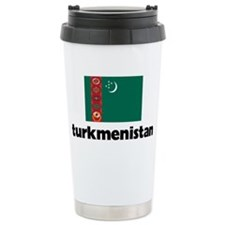 I HEART TURKMENISTAN FL Travel Mug