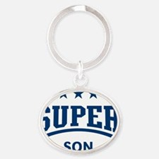 Super Son (Blue) Oval Keychain