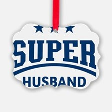Super Husband (Blue) Ornament
