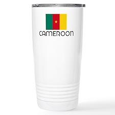 I HEART CAMEROON FLAG Travel Mug