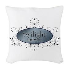Twilight Forever Logo 2 Woven Throw Pillow
