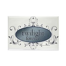 Twilight Forever Logo 2 Rectangle Magnet