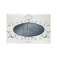 Twilight Forever Logo 2 Rectangle Magnet
