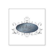 Twilight Forever Logo 2 Square Sticker 3&Quot; X 3