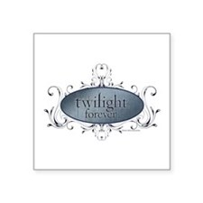 Twilight Forever Logo 2 Square Sticker 3&Quot; X 3