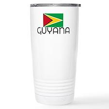 I HEART GUYANA FLAG Travel Mug