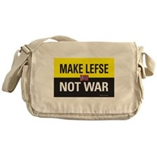 Make Lefse... Not War Messenger Bag
