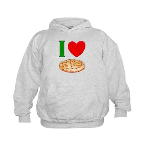 I Love Pizza Kids Hoodie