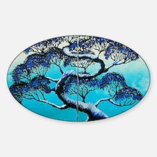 Blue Bonsai Serenity Decal