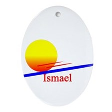 Ismael Oval Ornament