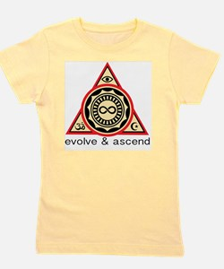 Evolve and Ascend Girl's Tee