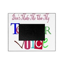 Don't Make Me Use My Teacher Voice Picture Frame