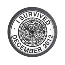 I survived the Mayan calendar Wall Clock