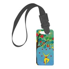 Love is the New Currency logo Luggage Tag
