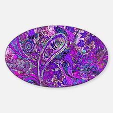 Extra Wild Paisley Purple Decal