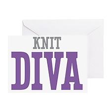 Knit DIVA Greeting Card