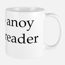 How to anoy a proofreader Small Mugs
