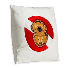 Key West Marine Salvage Burlap Throw Pillow