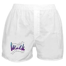 Walk - Just one foot Boxer Shorts