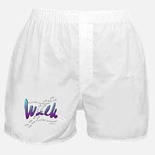 Walk - Just one foot Boxer Shorts