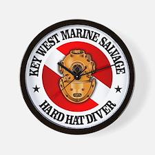Key West Marine Salvage Wall Clock