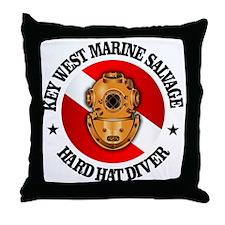 Key West Marine Salvage Throw Pillow