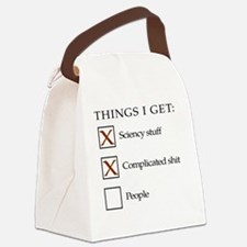 Things I get - not people1 Canvas Lunch Bag
