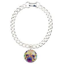Frenchie #3 Charm Bracelet, One Charm