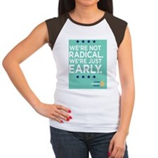 Were Not Radical Were J Women's Cap Sleeve T-Shirt
