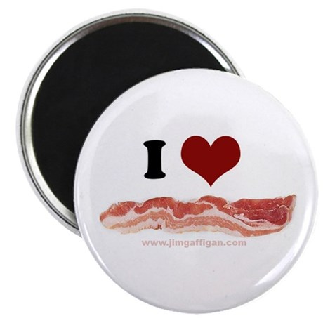 "BACON 2.25"" Magnet (100 pack)"