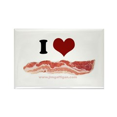 BACON Rectangle Magnet (10 pack)