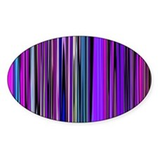 Purple Stripes Decal