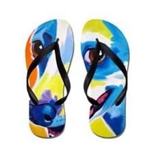 Jack Russell #4 Flip Flops