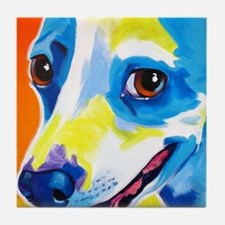 Jack Russell #4 Tile Coaster
