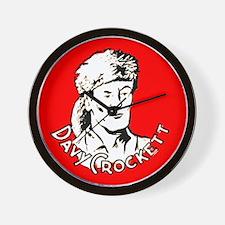 Davy Crockett #1 Wall Clock