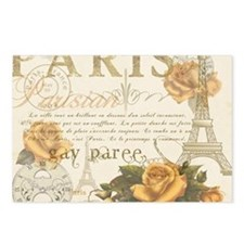 Vintage Paris Postcards (Package of 8)