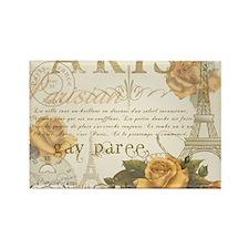 Vintage Paris Rectangle Magnet