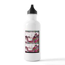 Cardiac echo tech 5 Water Bottle