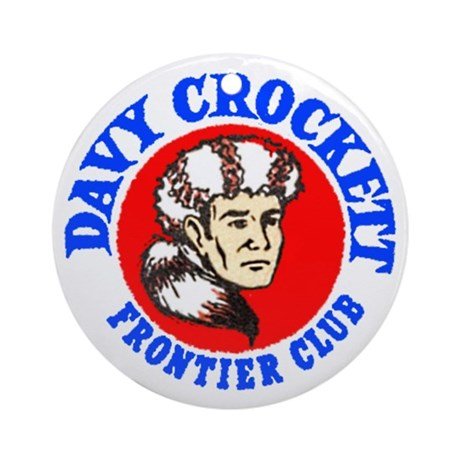 Davy Crockett #2 Ornament (Round)