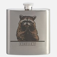 Evil Raccoon Flask