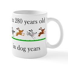 40 birthday dog years 1 Mug