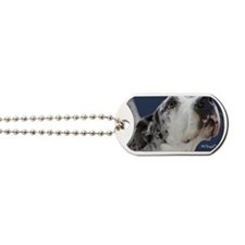 Great Dane Birthday Card Dog Tags