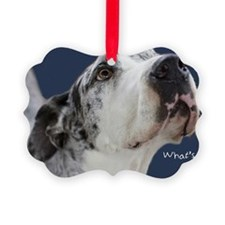 Great Dane Birthday Card Picture Ornament