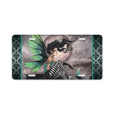 Secret Place Gothic Fairy Aluminum License Plate