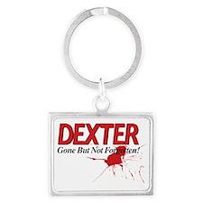 Dexter Gone But Not Forgotten Landscape Keychain