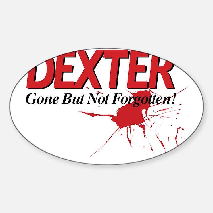 Dexter Gone But Not Forgotten Decal