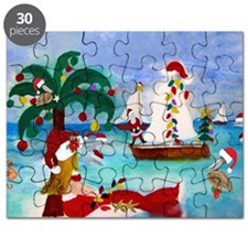 Christmas Boat Parade Puzzle