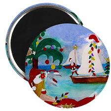 Christmas Boat Parade Magnet